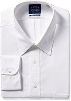 Eagle Men's Tall Size Non Iron Flex Collar Solid Point Collar Dress Shirt
