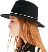 Sole Society Wide Brim Hat w/ Metal Band