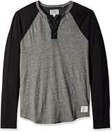 Lucky Brand Men's Grey Label Color Block Henley
