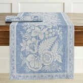 Williams-Sonoma Vintage Floral Jacquard Table Runner