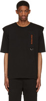 Hood by Air Black dead Inside T-shirt