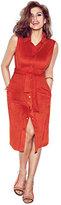 New York & Co. Eva Mendes Collection - Carmen Ultra-Suede Shirtdress