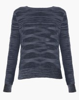 Veronica Beard Mainsail V-Back Sweater