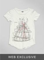 Junk Food Clothing Toddler Girls Cinderella Tee-sugar-4t