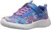 Skechers Girl's Skechers, Burst Illuminations Slip on Sneaker BLUE MULTI 13 M