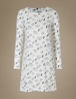 Marks and Spencer Pure Cotton Penguin Print Nightdress