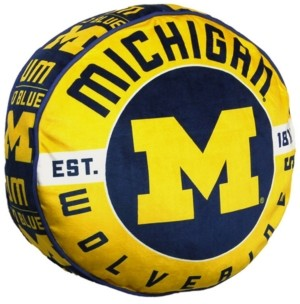 Northwest Company Michigan Wolverines 15inch Cloud Pillow