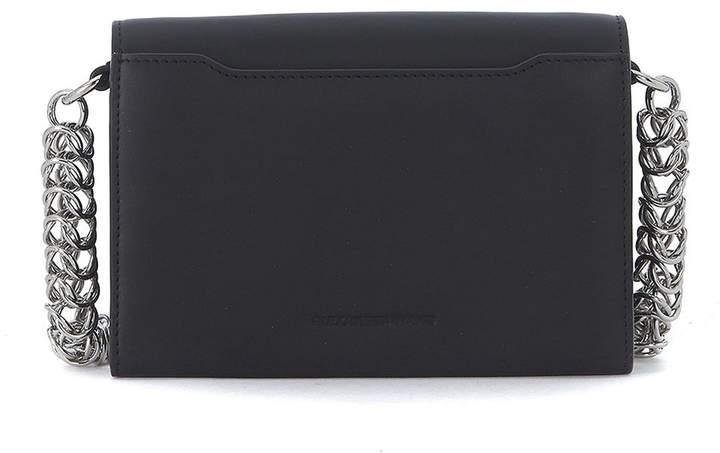Alexander Wang Attica Black Leather Shoulder Bag