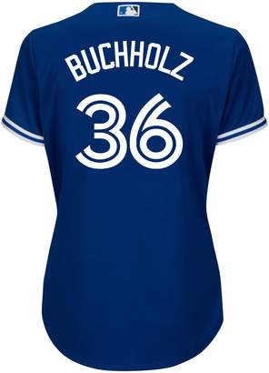 Majestic Athletic-Fit Buchholz Toronto Blue Jays Jersey Tee