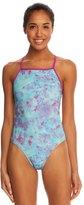 Speedo Tie Dye Printed One Back Swimsuit 8138495
