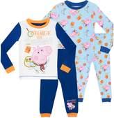 Peppa Pig George Pig Pajamas Boys' George Pig 2 Pack Pajamas