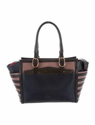 Christian Louboutin Leather Handle Bag Navy