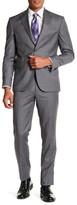 Ted Baker Rodney Grey Plaid Suit