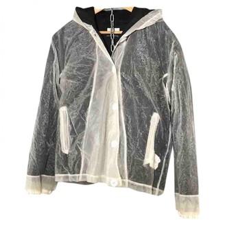 Stone Island White Cotton Coat for Women