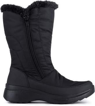 London Fog Paige Faux Fur-Trim Boots
