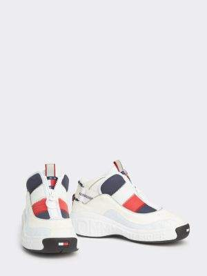 Tommy Hilfiger Heritage Padded Zip-Up Trainers