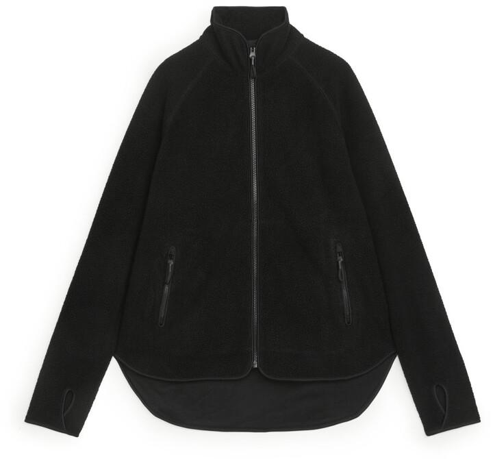 Arket Fleece Zip Jacket Shopstyle