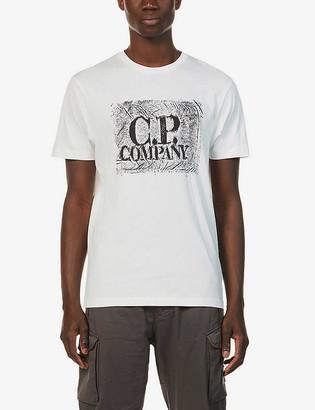 C.P. Company Graphic-print cotton-jersey T-shirt