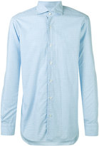 Barba gingham shirt - men - Cotton - 41