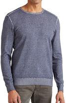 John Varvatos Star U.S.A. Cold Dye Crew Neck Sweater