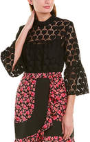 Anna Sui Hearts Lace Blouse