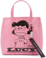 Marc Jacobs Pink Peanuts Edition The Mini Tag Tote