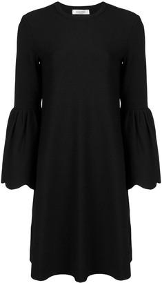 Valentino Bell sleeved Aline dress