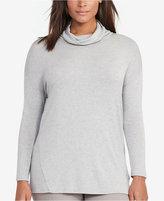Lauren Ralph Lauren Plus Size Cowl Neck Jersey Top