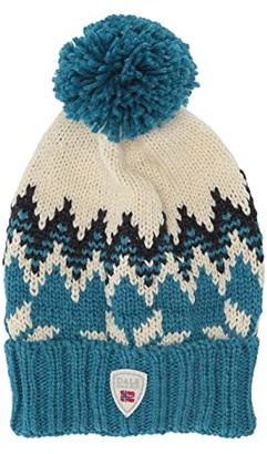 Dale of Norway Myking Hat (Turquoise/Dust Blue/Off-White) Beanies