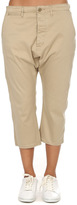R 13 Vintage Drop Crotch Chino