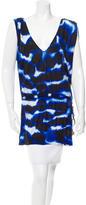 Diane von Furstenberg Sleeveless V-Neck Tunic
