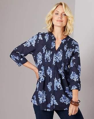 Julipa Cotton Pintuck Shirt