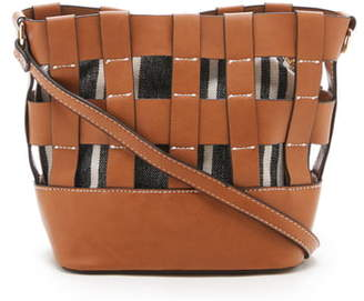 Sole Society Elvie Faux Leather Crossbody Bag