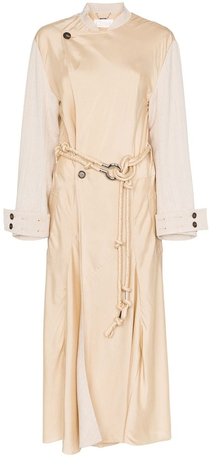 d88f7e1e37 belted wrap trench coat