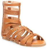 Stevies Girls' #STEPHIE Gladiator Sandals - Brown