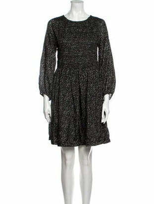 Apiece Apart Floral Print Mini Dress w/ Tags Green