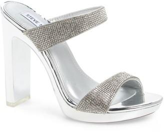Steve Madden Glassy Clear Platform Sandal