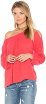 Velvet by Graham & Spencer Marcelle Cold Shoulder Top