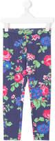 MSGM floral print leggings