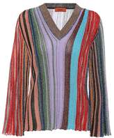 Missoni Metallic striped sweater