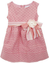 Rare Editions Sleeveless Eyelet A-Line Dress - Toddler Girls 2t-4t