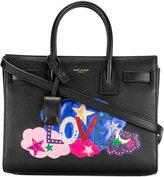 Saint Laurent baby Sac de Jour Love tote - women - Calf Leather - One Size