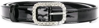Alexandre Vauthier Embellished Crystal Belt