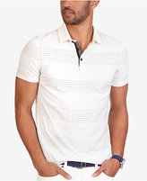 Nautica Men's Slim-Fit Dot-Stripe Polo