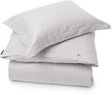 Lexington Company Lexington Sateen Stripe Duvet Grey/White 140x200cm