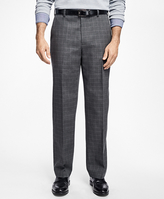 Brooks Brothers Non-Iron Milano Fit Windowpane Chinos