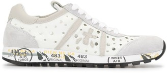 Premiata Lucyd perforated sneakers