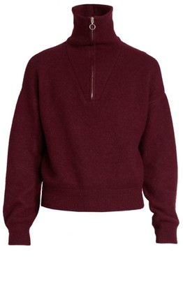 Isabel Marant Percy Quarter Zip Sweater