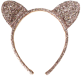 John Lewis Children's Halloween Bunny Ears Headband, Gold