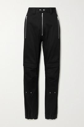 GmbH Yolanda Cotton-blend Twill Cargo Pants - Black